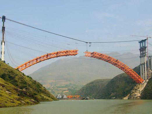 Как строят мосты?