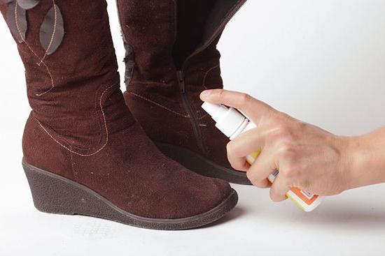 хімчистка замшевого взуття