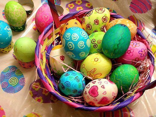 Как украсить пасхальные яйца?
