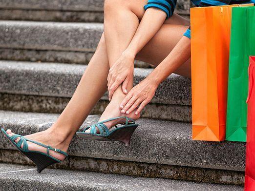 Як зменшити взуття?