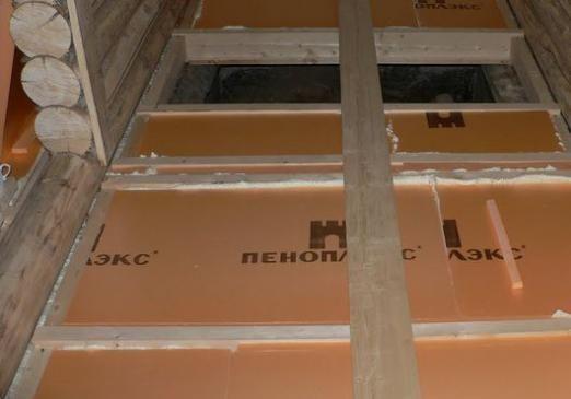Як утеплити дерев'яна підлога?