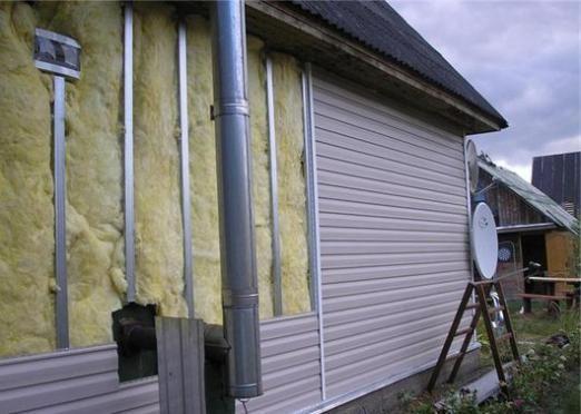 Как утеплить дом снаружи?