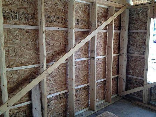 Как утеплить стены изнутри?