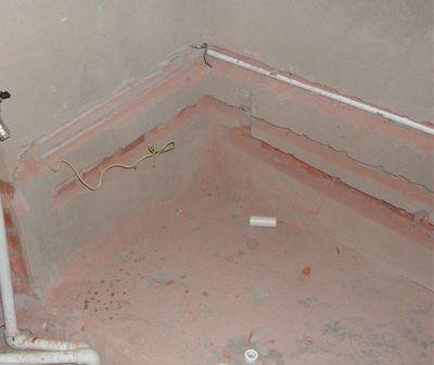 труби у ванній