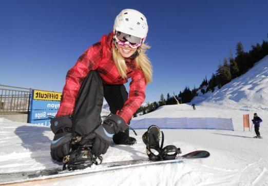 Как выбрать сноуборд для девушки?