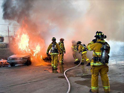 Как вызвать пожарных?