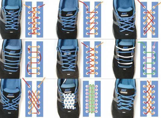 Как зашнуровать кроссовки?