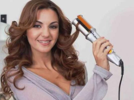 Как завить волосы выпрямителем?