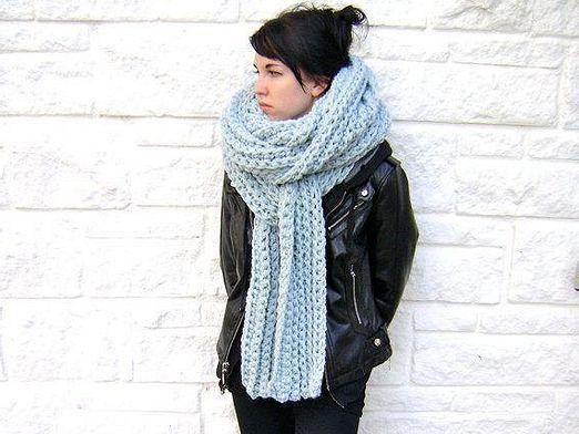 Як зав'язати довгий шарф?