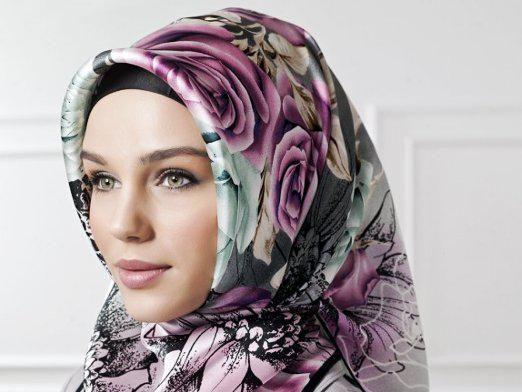 Как завязывать платок по-мусульмански?