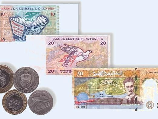 Какая валюта в тунисе?