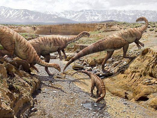 Какие были динозавры?