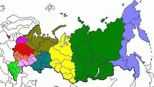 Какие экономические районы россии существуют и чем они отличаются