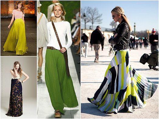 Какие юбки в моде?
