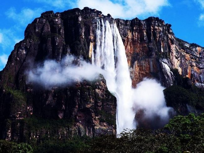 Какой самый высокий водопад в мире?