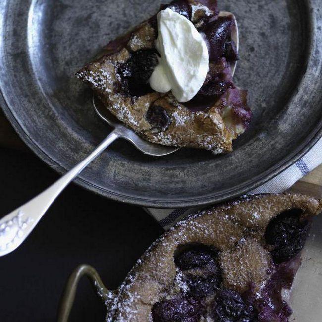 рецепт клафути з вишнею від висоцької