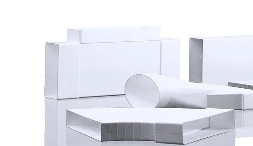 Пластиковий короб для витяжки