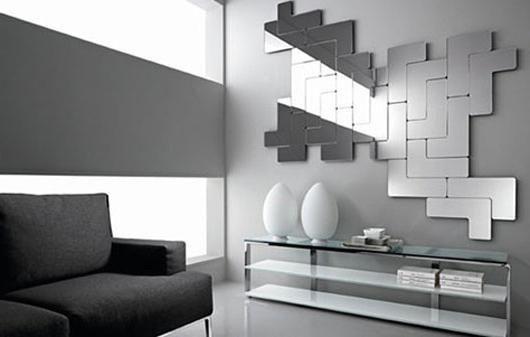дзеркальне панно на стіну