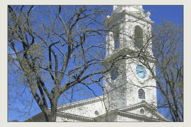 Перша бапістская церква на Род-Айленд.
