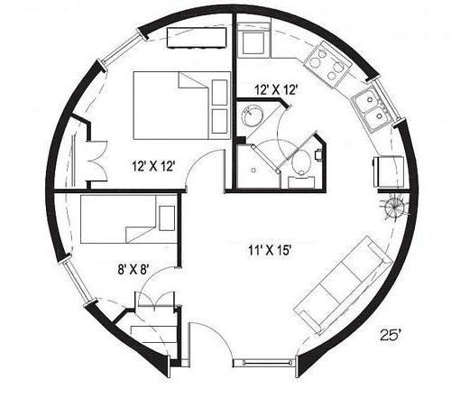 побудувати купольний будинок