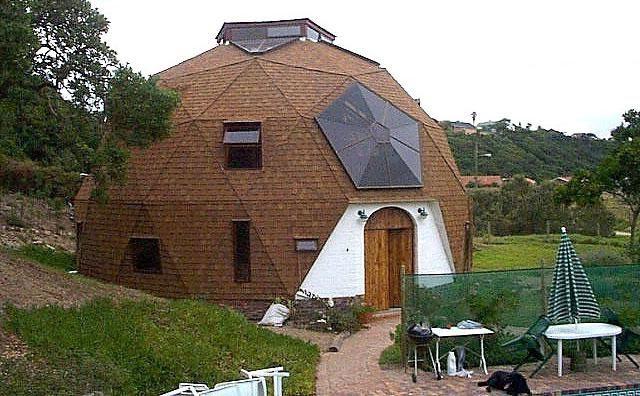 купольний будинок планування
