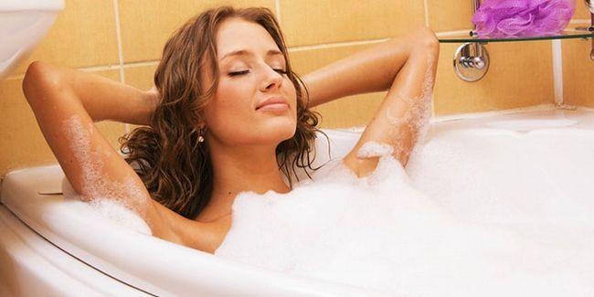 Прийом ванни перед процедурою обгортання