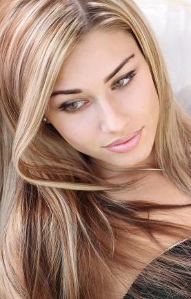 Мелірування на світле волосся
