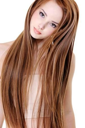 Темне мелірування на світле волосся