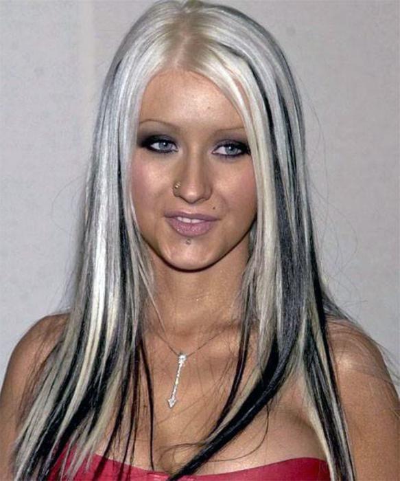Мелірування на фарбоване світле волосся