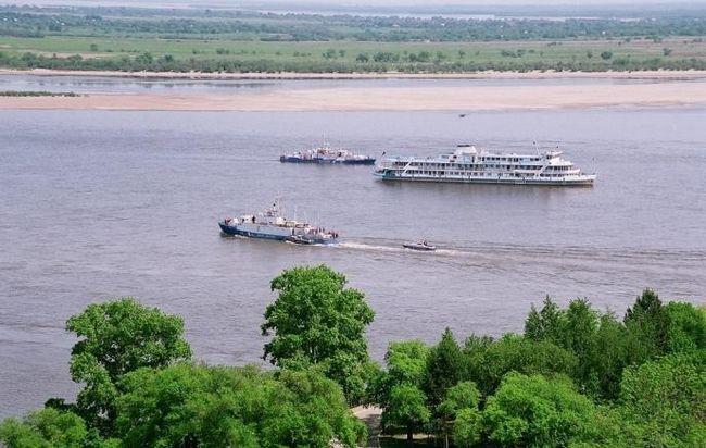 Могучая река амур
