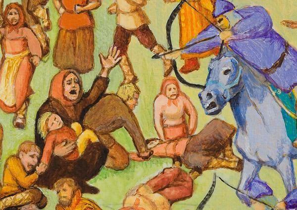 монголо татарська навала на Русь відноситься до років