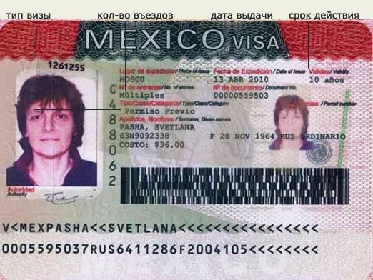 Нужна ли в мексику виза?