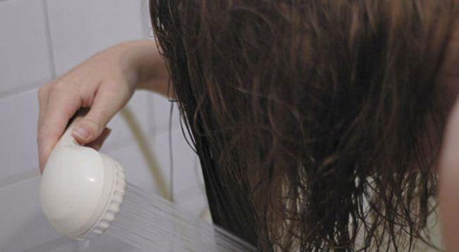 змивання маски