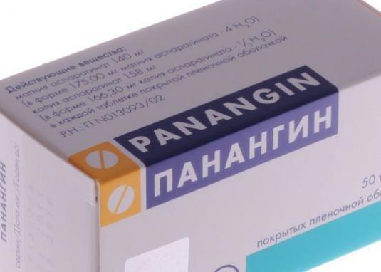 От чего панангин?