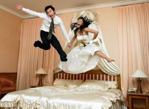 Первая брачная ночь - что делать?