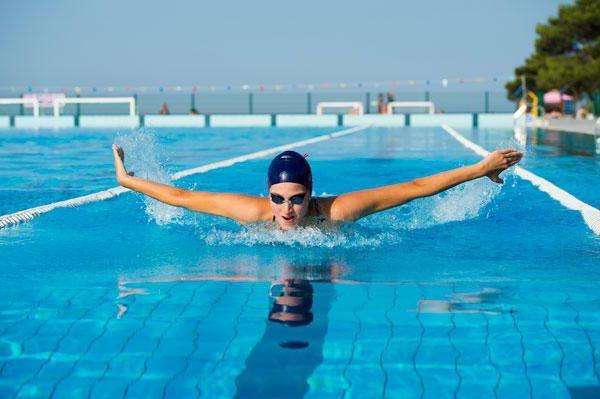 Розряди з плавання