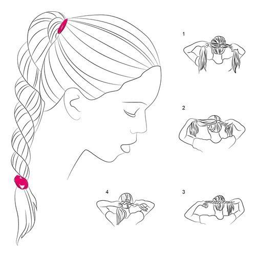 Коса джгут схема