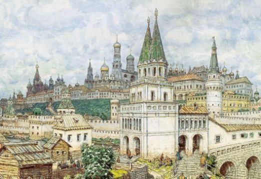 Чому Москва білокам'яна?