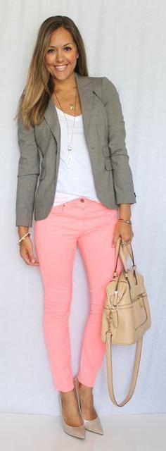Поєднання кольорів в одязі сірий