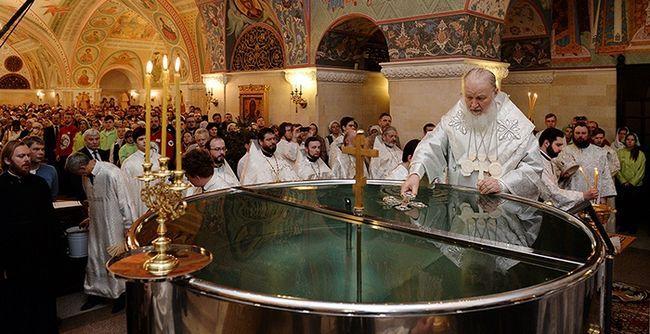 Церковна служба у Водохресний святвечір