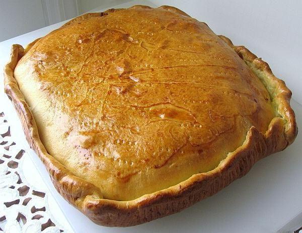 швидкий пиріг з капустою