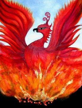 Птица феникс - символ возрождения