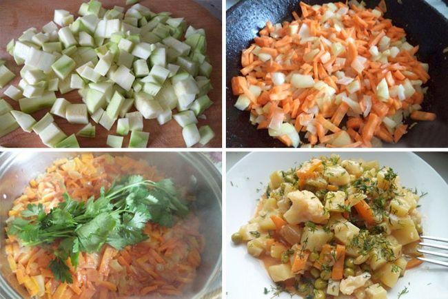 Покрокове приготування страви з баклажанами