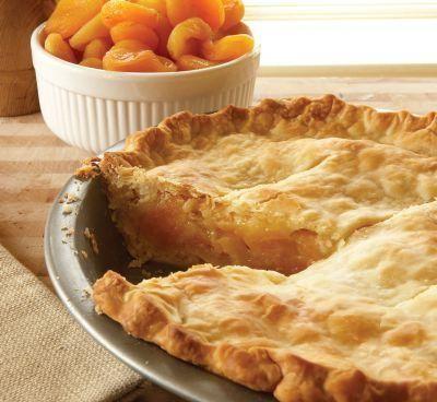 абрикосовий пиріг рецепт