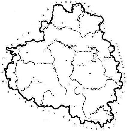 ріки тульської області