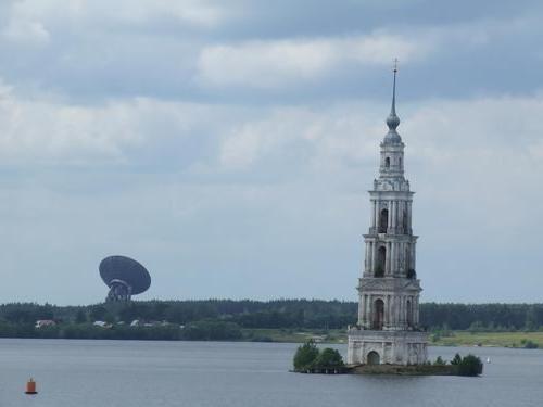 Гирло річки Волга