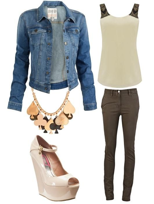 модні джинсові куртки