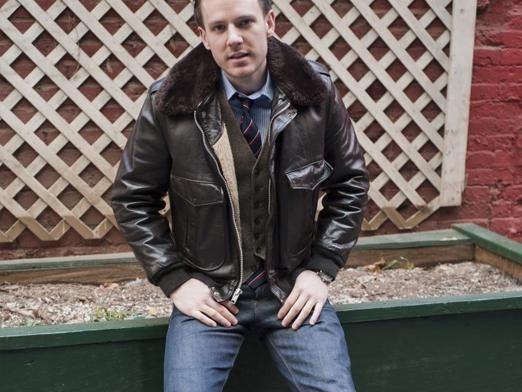 С чем носить кожаную куртку?
