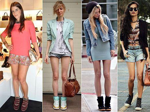 С чем носить кроссовки?