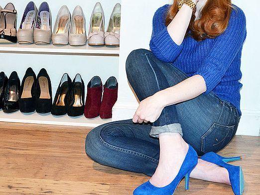 С чем носить туфли?